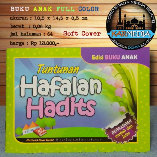 Foto Produk Buku Anak Tuntunan Hafalan Hadits Edisi Buku Anak - PIU- Karmedia dari karmedia