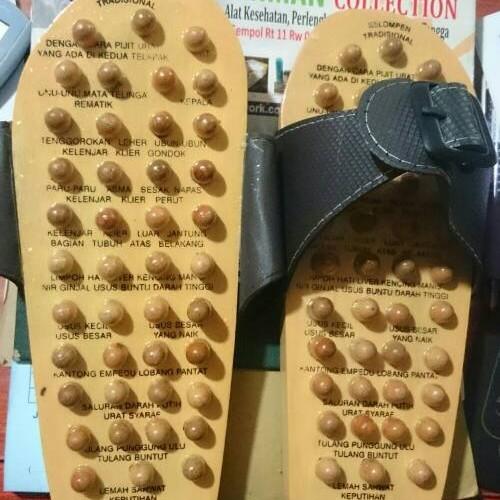 Foto Produk Sandal Kesehatan Kayu | Sandal Akupuntur dari Abdurrahman Collection