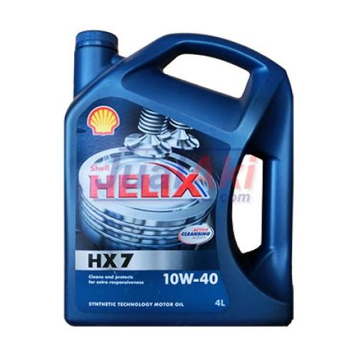 Foto Produk Shell Helix HX7 SAE 10W40 Galon dari JualAki
