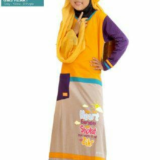 Foto Produk Syamsakids SL 058 Wash Your Heart | Size XS, S, M dari Gerai Kaos Anak