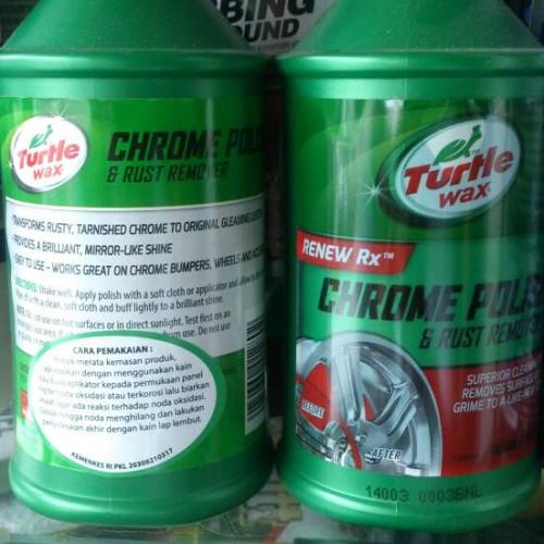 Foto Produk Turtle Wax Liquid Chrome Polish dari KaryaJaya