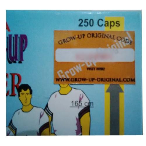 Foto Produk Obat Peninggi Badan Grow - Up 250 Cps ORIGINAL dari Body Perfect Shop