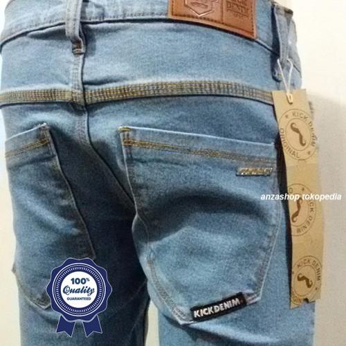 Foto Produk Celana Jeans Branded Kick Bandung Pensil/Skinny/Streach BioBlitz CO dari Anza Shop
