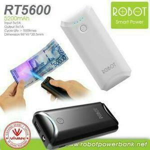 Foto Produk Powerbank Vivan Robot RT5600 5200 mAh dari tantrimedi
