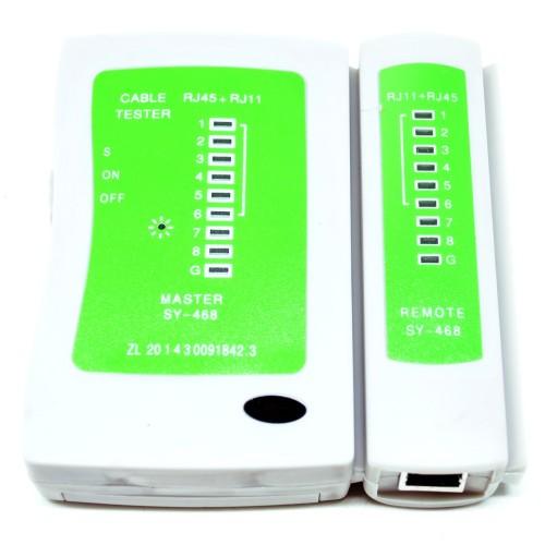 Foto Produk Multi Cable Tester - Bisa buat Test Kabel UTP, Telpon, USB dari Pusat Komputer Notebook - PUSKOM