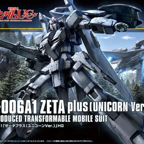 Foto Produk Bandai HG HGUC Zeta Plus (Unicorn Ver.) dari BakuToys Collection