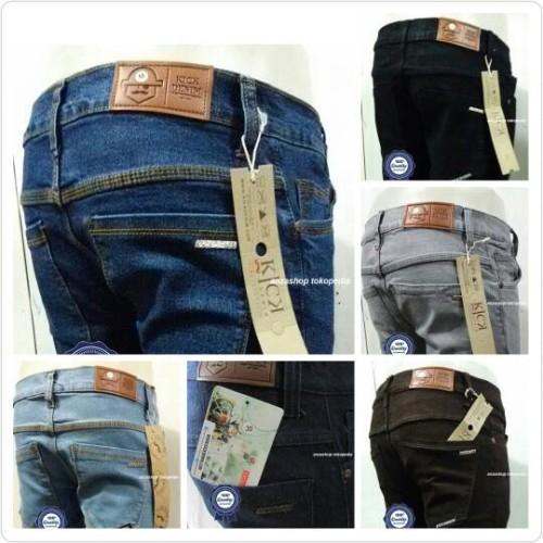 Foto Produk celana jeans denim kick Denim dari Anza Shop