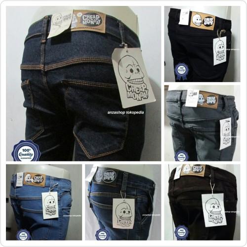 Foto Produk Celana Jeans Branded CheapMonday Bandung Pensil/Skinny/Streach CO dari Anza Shop