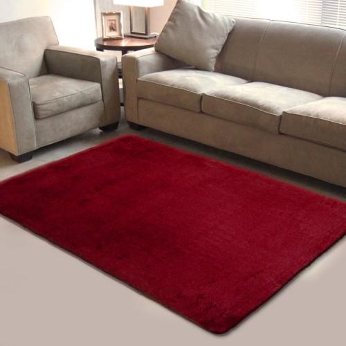Foto Produk Karpet Bulu Halus Shaggy 150x200cm - Merah dari JAMAS Carpet