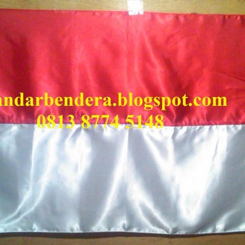 Foto Produk Bendera Bahan Kain Satin dari Bandar Bendera