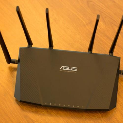 Foto Produk ASUS RT-AC3200 Tri-Band AC3200 Wireless Gigabit Router dari Elia Computer Store