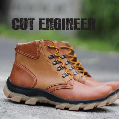 Foto Produk Cut Engineer Safety Best Quality Boots Slip - Cokelat dari Cut Engineer
