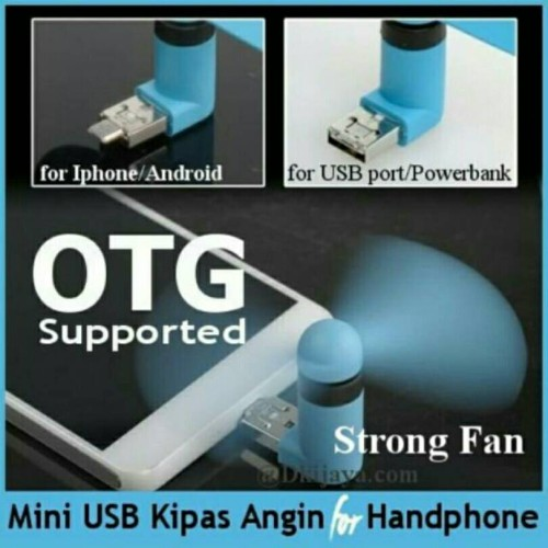 Foto Produk Kipas Mini Usb Micro 2in1 dari Grosir Cepat ACC