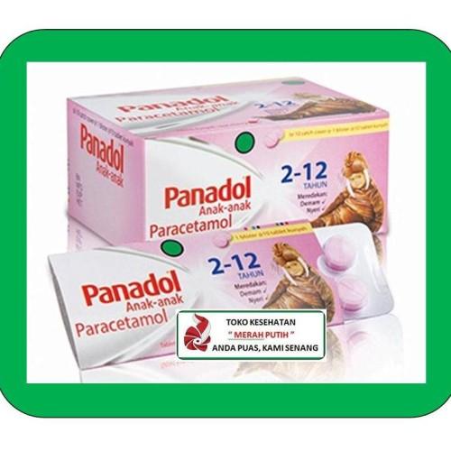 Foto Produk PANADOL ANAK-ANAK TABLET KUNYAH RASA CHERRY dari TK KESEHATAN MERAH PUTIH