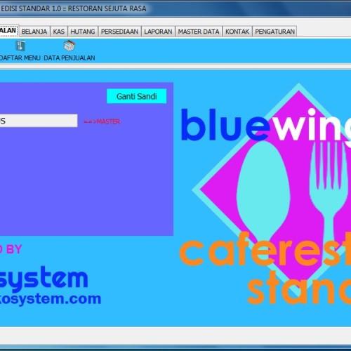 Foto Produk Bluewing Caferesto Standar dari tekosystem
