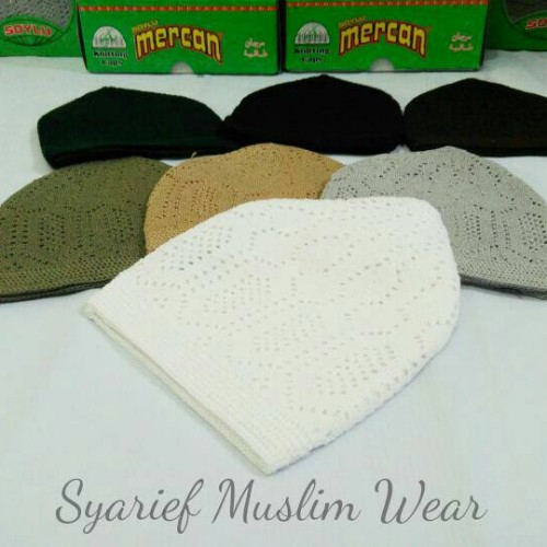 Foto Produk Kopiah/Peci Mercan Turki | Oleh-oleh Haji/Umrah dari Syarief Muslim Wear