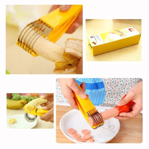 Foto Produk Alat Pemotong / Pengiris Pisang Sosis (Banana Slicer) - As Seen On TV dari Smart Indonesia