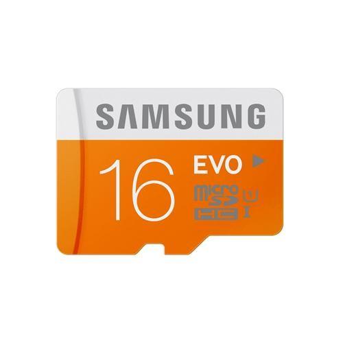 Foto Produk Samsung MicroSDHC EVO Class 10 (48MB/s) 16GB dari deShipper Express