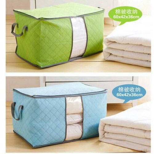 Foto Produk Storage Bag Tempat Pakaian / Selimut / sprei / bed cover dari delthen