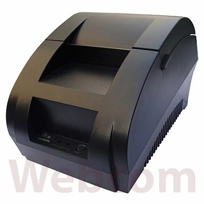 Foto Produk Taffware Thermal Printer PS 57.5mm - ZJ-5890K Printer Alamat Nota POS - Hitam dari Web Com