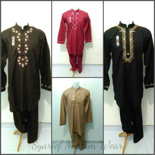 Foto Produk Setelan Baju Koko Pakistan - Sollu (High Quality) dari Syarief Muslim Wear
