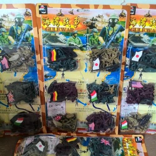 Foto Produk Mainan tentara plastik 6 negara dari Komomo