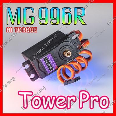 Foto Produk MG996R TowerPro Servo MG996 Metal Gear High Torque Upgraded MG995 dari Prima Terang