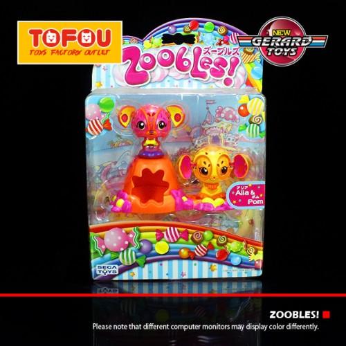 Foto Produk Zoobles Rumah Alia & Pom - Sega Toys - MOC dari GERARD-TOYS