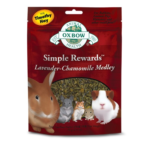 Foto Produk Oxbow Simple Reward Lavender Chamomille - EXP 2021-04 dari Hime petshop