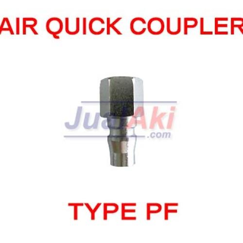 Foto Produk Air Quick Coupler Type PF (Kopler Cowo Drat Dalam) dari JualAki