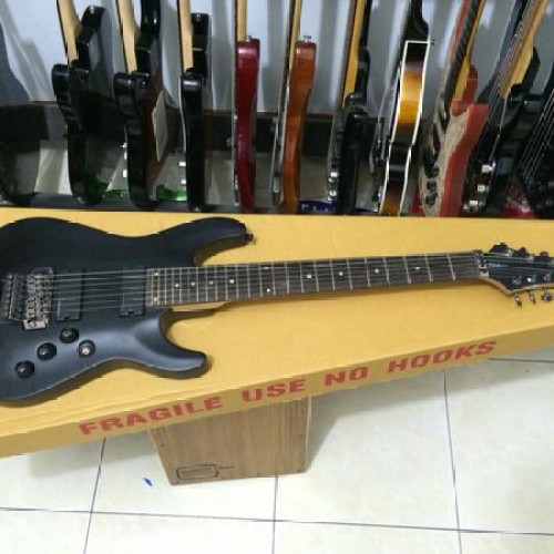 Foto Produk Gitar Schecter Demon-7FR Original Bonus Gigbag dari Natan Music