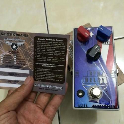 Foto Produk Efek Delay RPM Custom Indonesia dari Natan Music