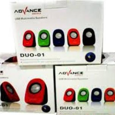 Foto Produk Speaker USB Multimedia ADVANCE DUO-01 F/Laptop MAC Desktop PC Komputer dari ARDI-STORE