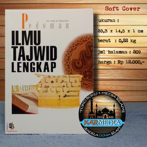 Foto Produk Pedoman Ilmu Tajwid Lengkap - Diponegoro - Karmedia dari karmedia