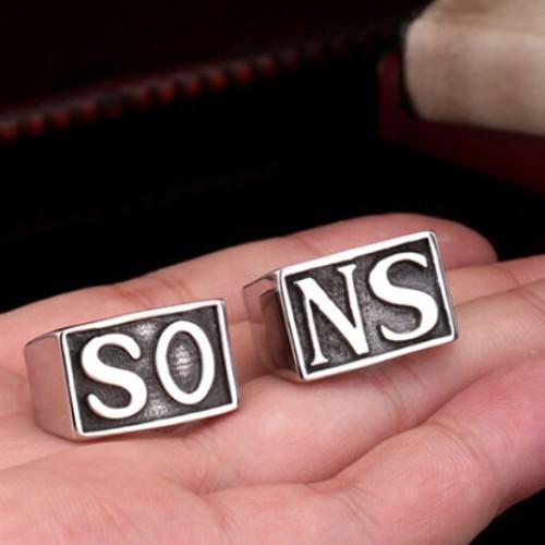 Foto Produk cincin couple sons of anarchy  ring couple SONS cincin pasangan SONS dari Batavia jewelry