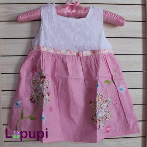 Foto Produk A194 Smile Rabbit - Dress Bunga dari Lapupi Kids