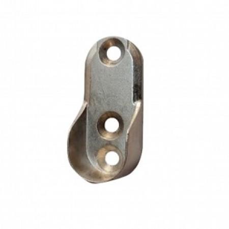 Foto Produk Bracket Pasangan Pipa Oval stainles Braket Dop Pipa Oval Chrome dari Bintang Hardware