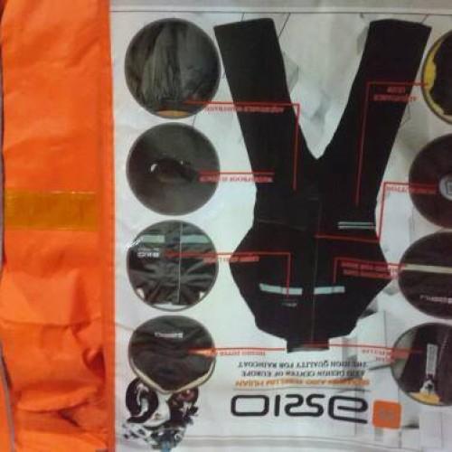 Foto Produk Jas Hujan Axio silver Serie khusus Orange dari Kitaro MotorShop