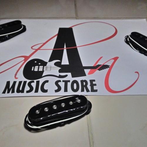 Foto Produk Pickup Single Coil Ceramics GnB - Hitam/Black dari danmusicstore