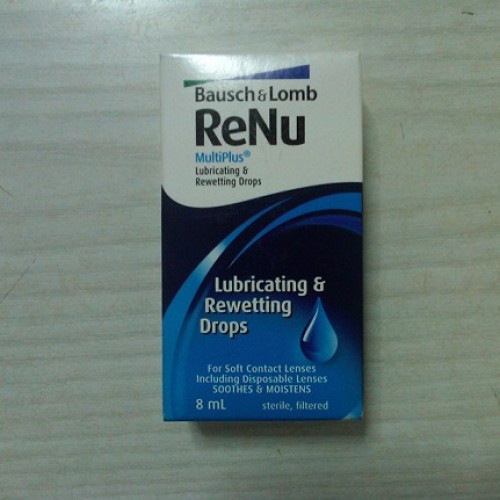 Foto Produk Renu Multiplus Lubricating & Rewetting Drops by Bausch & Lomb dari TLS Optical Center