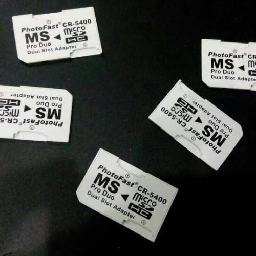 Foto Produk Photofast Dual Slot Converter Micro SD to Memory Stick Pro Duo Adapter dari cello game