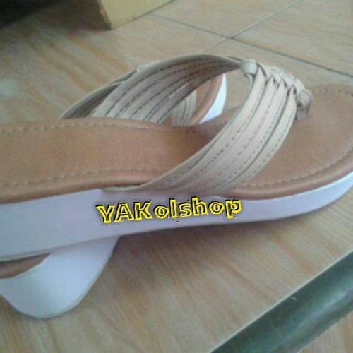 Foto Produk YAKsandals,wedge 4 cm ,made by order dari Bali Wedding Souvenir