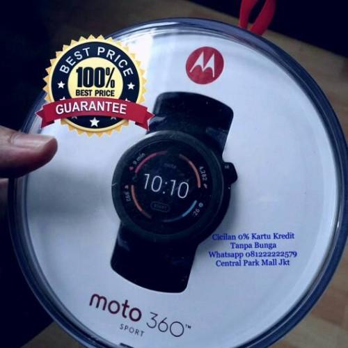 Foto Produk [Murah n Original] Moto 360 2nd Gen 42mm With Black Leather dari JUALGADGETS