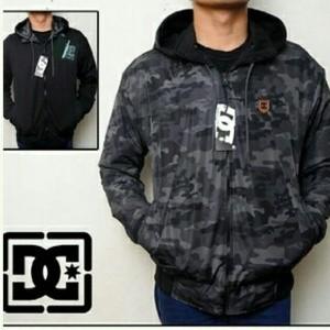 Foto Produk Jaket Parasut Bolak Balik DC Army Loreng Hitam Abu dari Jaket Parasut
