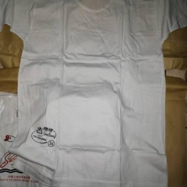 Foto Produk kaos oblong swan original RRC CODE A61029 UKURAN 38 40 42 dari YUZNA CELL