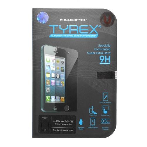 Foto Produk Tyrex + Garansi iPhone SE / 5s / 5 Tempered Glass Screen Protector dari unomax