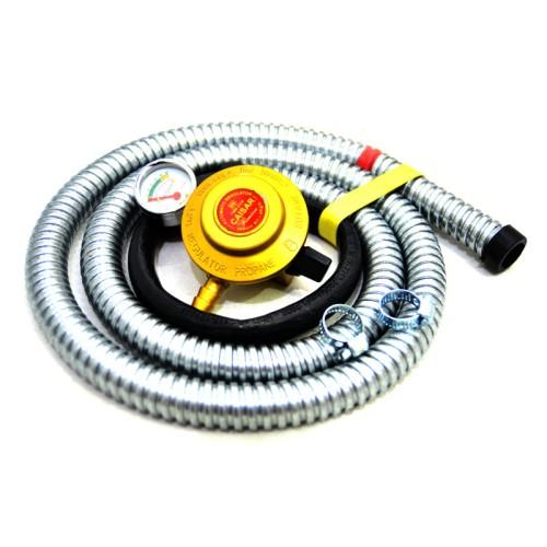 Foto Produk Selang Gas Paket Regulator Flexibel Aman Dan Murah dari MEGAH GROSIR ELEKTRONIK