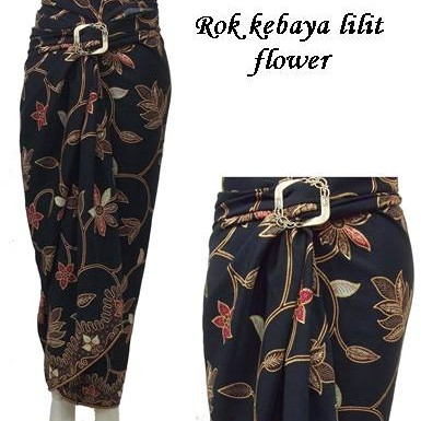 Foto Produk Rok Lilit Batik/rok Pasangan Kebaya/bawahan Kebaya flower dari NHM online shop