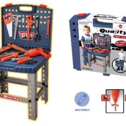 Foto Produk Mainan Anak Cowok Super Tool Set Quality dari toy house