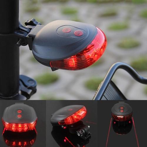 Foto Produk Lampu Belakang Sepeda Laser   LED Garis Warna   Bike Tail Light Lamp - Merah dari Aino Shop
